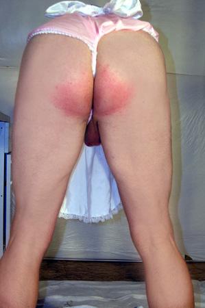 spanked-sissy